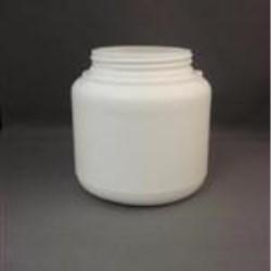 1000 cc HDPE Jar, Round, 100-400, Straight Sided