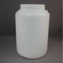 2000 cc HDPE Jar, Round, 89Squeeze Lok, Straight Sided
