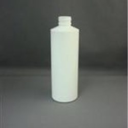 8 oz LDPE Cylinder, Round, 24-410, Straight Sided
