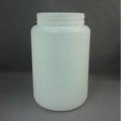 1750 cc HDPE Jar, Round, 100-400, Straight Sided