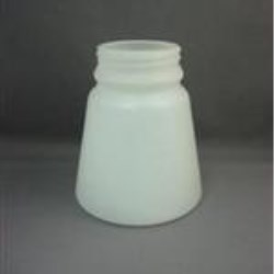 24 oz HDPE Tapered, Round, 70mm, Heavy Wall