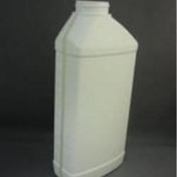 40 oz HDPE Asymmetrical, Oblong, 45-400, Offset Neck Graduated ,