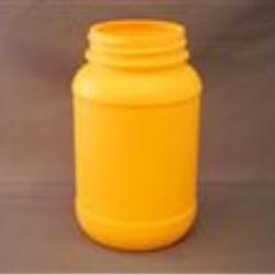 750 ml HDPE Jar, Oblong, 70-400, Label Indent