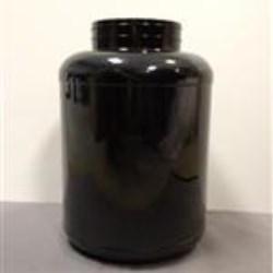 254 oz PET Jar, Round, 120-400, Label Indent