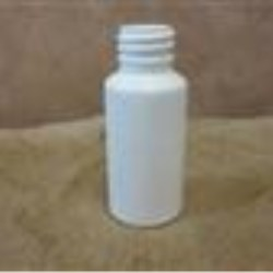 1 oz HDPE Cylinder, Round, 20-400, Tall Straight Sided
