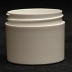 2 oz P/P Jar, Round, 53-400, Thick Wall Straight Sided