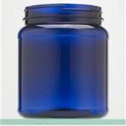 1500 cc PET Jar, Round, 110-400, Label Indent