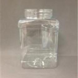48 oz PET Jar, Square, 89,