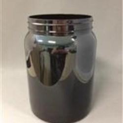 64 oz PET Jar, Round, 110,