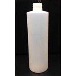 16 oz HDPE Cylinder, Round, 24-410,