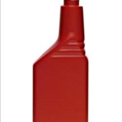 12 oz HDPE Asymmetrical, Oblong, 24-400Special, Offset Neck ,