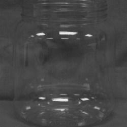 74 oz PET Jar, Round, 120-400,