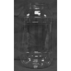 205 oz PET Jar, Round, 120-400,