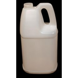 4000 ml HDPE Handleware Oblong, 38-400,