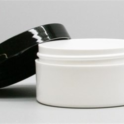 4 oz P/P Jar, Round, 83-400, Thick Wall Straight Base ,