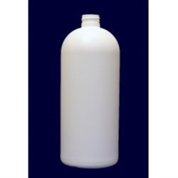 32 oz HDPE 25%PCR Soft Touch Bullet, Round, 24-410, ,