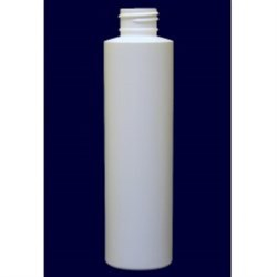 5.1 oz HDPE Cylinder, Techmer, Coex Round, 24-410, Thickening Serum 1 Pass SilkScreen