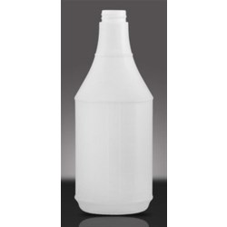 24 oz HDPE Carafe/Decanter Round, 28-400Special ,