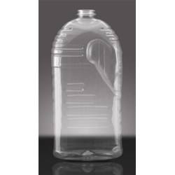 2 ltr PET Straight Sided Oblong, 32 Beri, Grip ,
