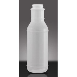 375 ml HDPE Long Neck Round, 38-400, ,