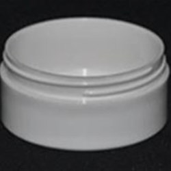 2 oz P/P Jar, Round, 70mm, Thick Wall Low Profile Edge Tamer Label Applied ,