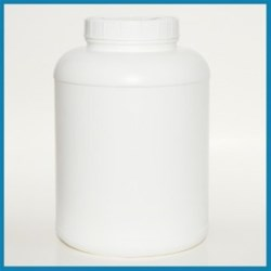 2 gal HDPE Packer, Round, 120-400, Label Indent