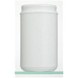 85 oz HDPE Jar, Round, 120-400, ,