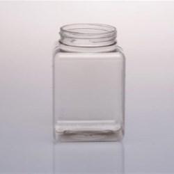 19 oz PVC Jar, Square, 63-400,