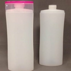 250 ml HDPE Pinch Oval, 24mm Snap On, ,