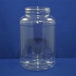 32 oz PET Jar, Round, 70, ,