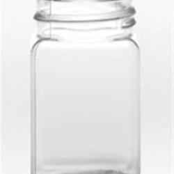 4 oz PET Jar Square, 43mm, ,