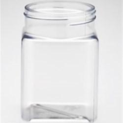 6 oz PET Jar Square, 53mm, ,