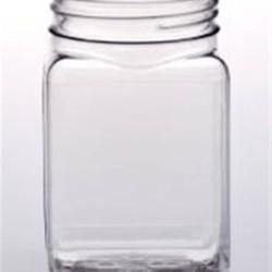 10 oz PET Jar Square, 63mm, ,