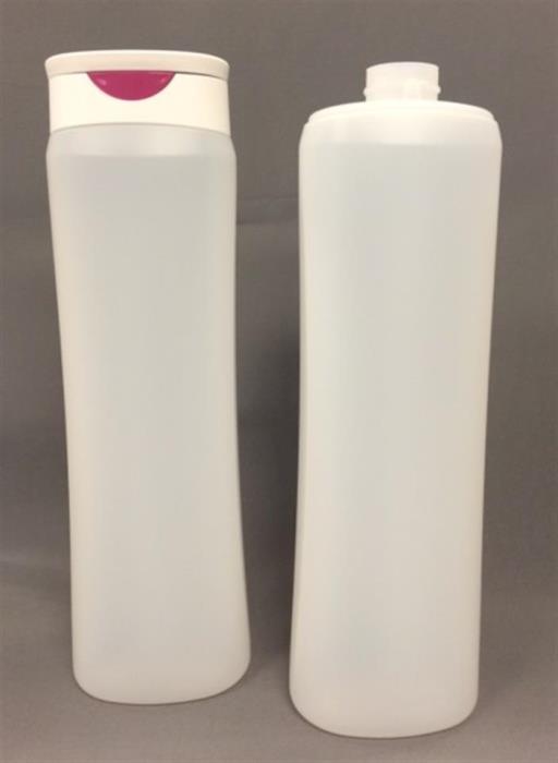 400 ml HDPE Pinch Oval, 23mm, ,