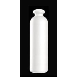 400 ml HDPE Bullet Round, 24-410, ,