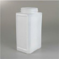 3 qt HDPE Straight Sided, Oblong, 100-400, ,