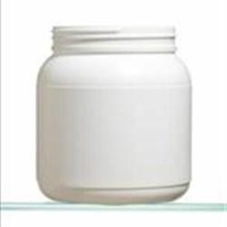 1250 cc HDPE Jar, Round, 100-400,