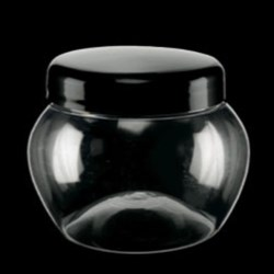 250 ml PET Jar Round, 70mm, ,