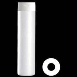 400 ml HDPE Cylinder, Round, 24-410, ,