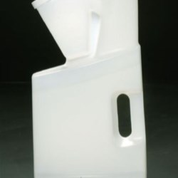 128 oz HDPE Measure/Dispense Oblong, 63-400, ,
