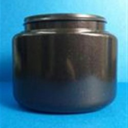 8 oz HDPE 10% PCR Jar, Oval, 70-400, ,