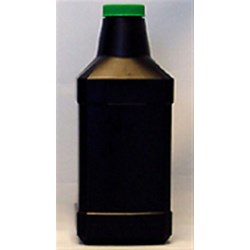 32 oz HDPE Long Neck Oblong, 38-400, Label Indent ,