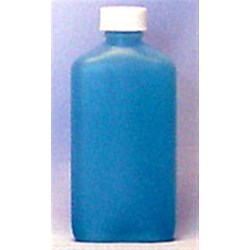 3 oz HDPE Straight Sided Oblong, 20-400,