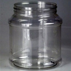 60 oz PET Jar, Round, 110-400, ,