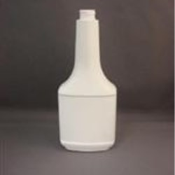 12 oz HDPE Long Neck, Oblong, 22-400, Label Indent ,