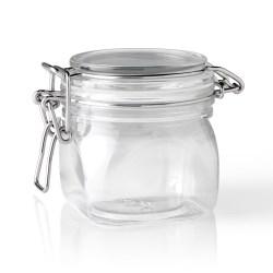 200 ml PET Jar, Square, ,