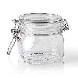 350 ml PET Jar, Square, ,