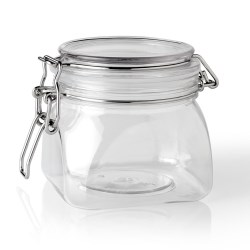 500 ml PET Jar, Square, ,