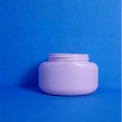 4 oz PVC Jar, Natural Oval, 58-400,