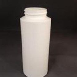 6 oz HDPE Cylinder, Round, 38-400, Straight Sided